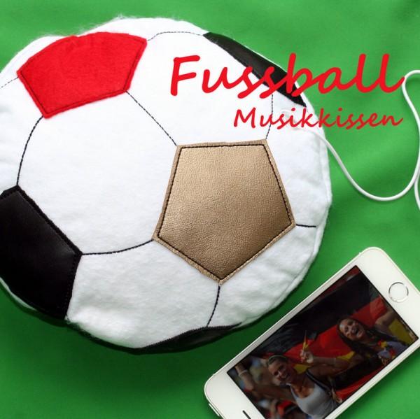 Fussball Musikkissen