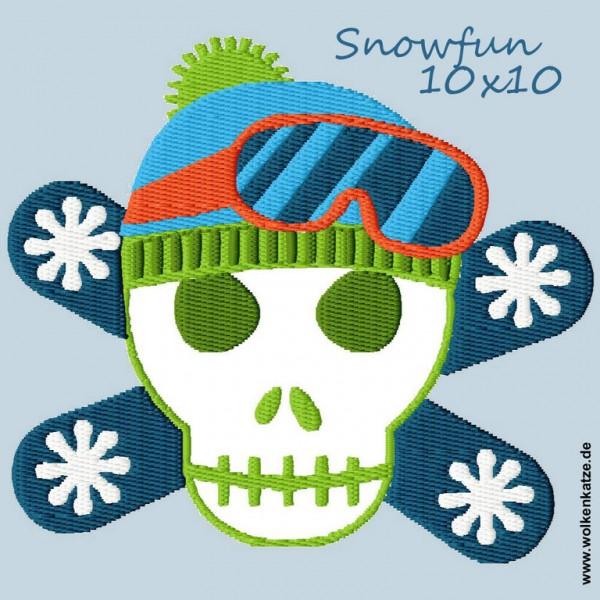 Snow Fun Totenkopf