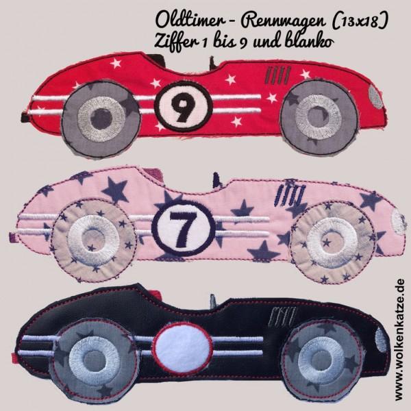 Oldtimer- Rennwagen